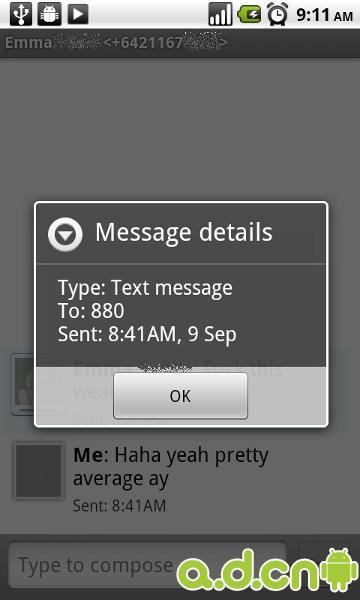 Google确认Android存在程序缺陷误发短信