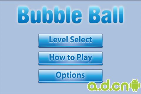 免费Android游戏Bubble Ball