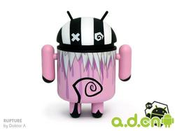 一批Dyzplastic Android 模型公仔设计