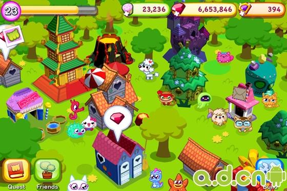 《莫希怪兽村庄 Moshi Monsters Village》