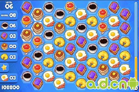 《刷刷早餐 Breakfast Swipe HD》
