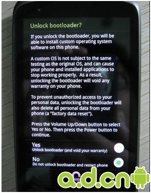 HTC Nexus One G5 Root教程