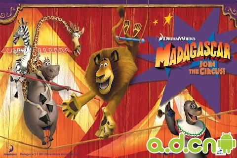 《马达加斯加:加入马戏团 Madagascar Join the Circus!》