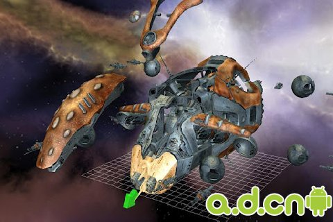《3D飞船拆解 Starship Disassembly 3D》