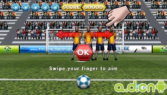 任意球 Soccer Free Kicks