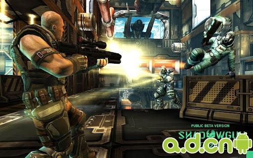 《暗影之枪:死亡区域 SHADOWGUN: DeadZone》公测版