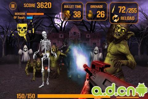 《枪火僵尸 万圣节版 Gun Zombie:Hallowen》