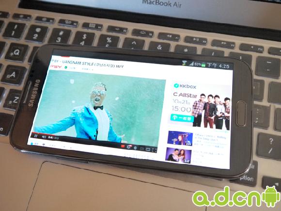 Samsung GALAXY Note2 教你加裝 Flash Player