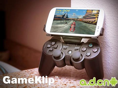 智能手机变作游戏机
