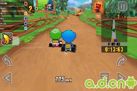 《跑跑卡丁车 KartRider Rush》