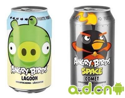 愤怒的小鸟牌饮料