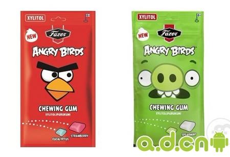 愤怒的小鸟口香糖