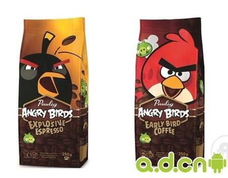 愤怒的小鸟咖啡
