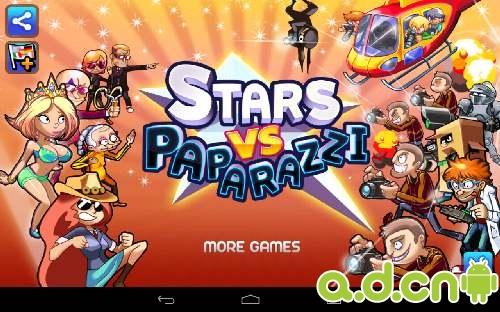 安卓策略塔防游戏《明星大战狗仔队 Stars vs. Paparazzi》