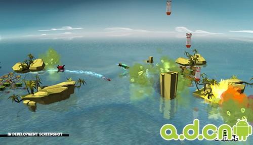 安卓跨平台多人对战游戏《TurtleStrike》