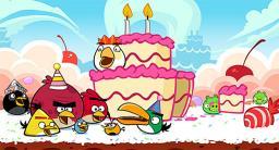 安卓经典益智休闲游戏《愤怒的小鸟 Angry Birds》