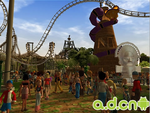 《过山车大亨 Roller Coaster Tycoon》
