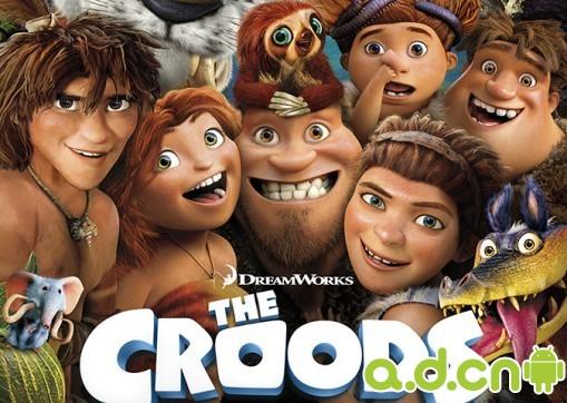 疯狂原始人 The Croods 游戏画面首曝光 Rovio第一款模拟...