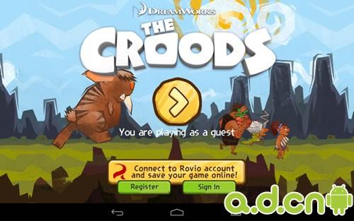 《疯狂原始人 The Croods》安卓版下载