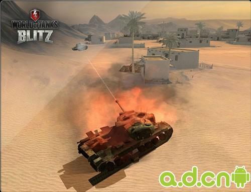 『坦克世界閃電戰World of Tanks Blitz』攜7對7 PVP玩法搶灘Android
