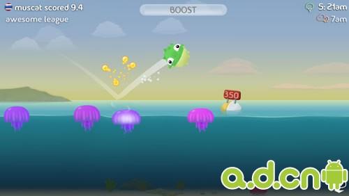 水果忍者開發商新作『Fish Out Of Water』公開暫無緣Android