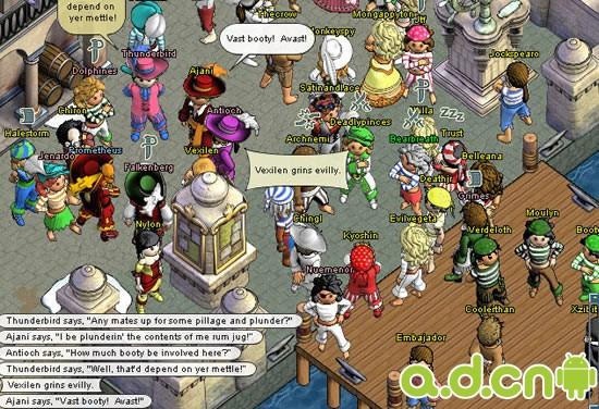 《谜题海盗 Puzzle Pirates》