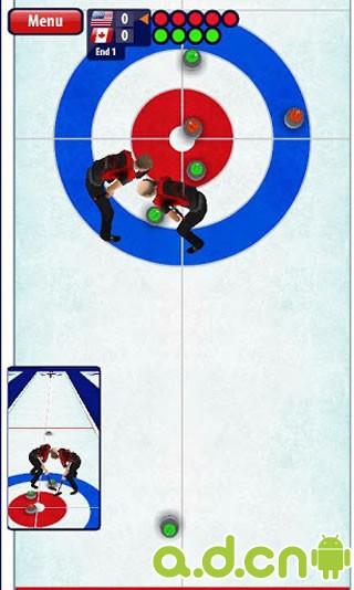 《3D掌上冰球 Curling3D》