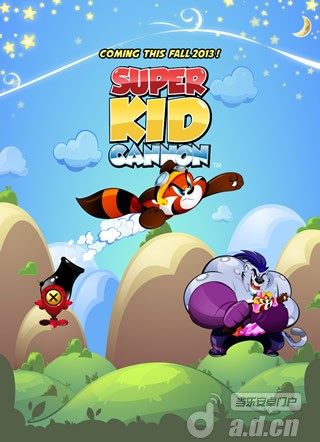垂直彈射新作『風雲小子愛玩炮 Super Kid Cannon』今秋登陸Android