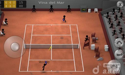 《火柴人网球 Stickman Tennis》