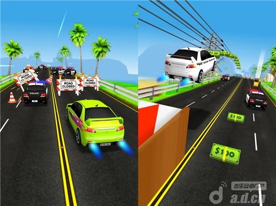 汽車跑酷遊戲『追捕 BUSTED』即將飆向Android