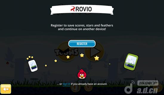 Rovio賬戶功能正式啟用可實現資料跨平台雲存儲