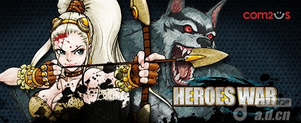 Com2Us 回合制 RPG 『英雄之戰 Heroes War』即將發佈