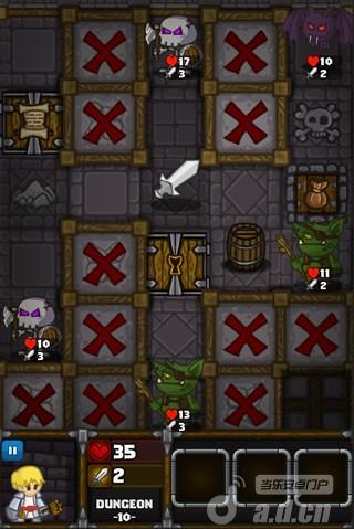 《地牢爬行 Dungelot》