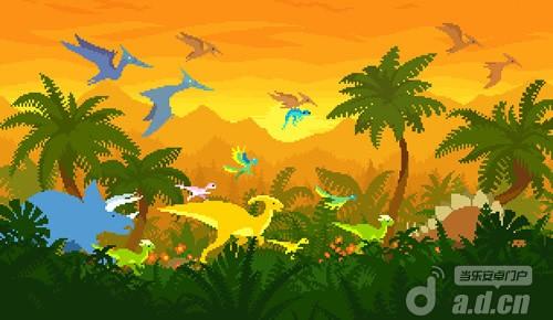 多玩家競速遊戲『迪諾快跑2 Dino Run 2』登陸Kickstarter
