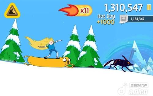 《滑雪大冒险之探险活宝 Ski Safari Adventure Time》
