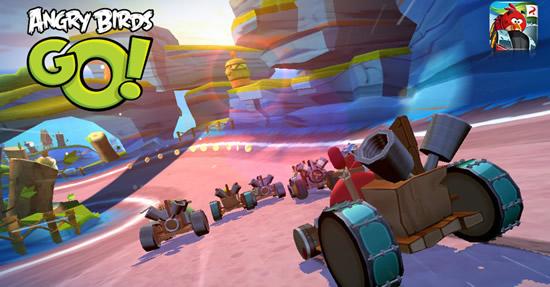 《愤怒的小鸟卡丁车 Angry Birds Go!》