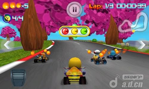 《吃豆人卡丁车 Pac Man Kart Rally》