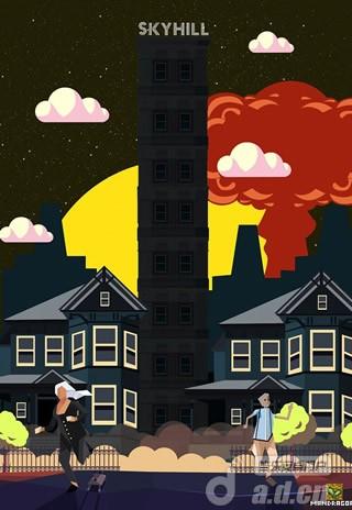 2D隨機生存遊戲『天空之山Skyhill』是將登Android