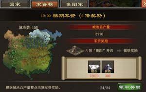 『一統天下』遊戲中屌絲的國戰理由